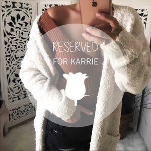Sweaters - RESERVED LISTING FOR KARRIE